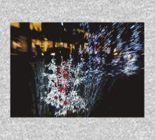Happy Christmas Burst - Abstract Christmas Lights Series Kids Clothes