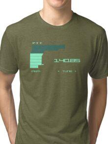 Metal Gear Solid 2 Codec (Green color) Tri-blend T-Shirt