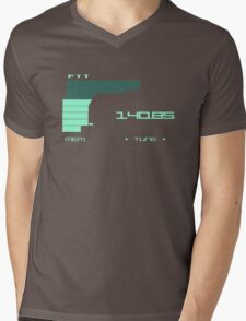 Metal Gear Solid 2 Codec (Green color) Mens V-Neck T-Shirt