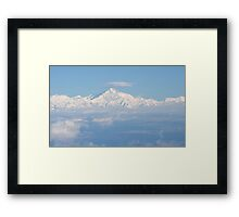 Mount Everest from the Air Framed Print