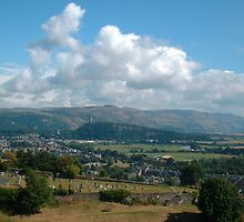 Stirling view by Martina Fagan