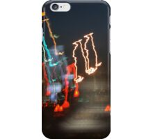 Musical Phrase in Lights  iPhone Case/Skin