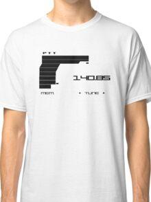 Metal Gear Solid 2 Codec (Black color) Classic T-Shirt