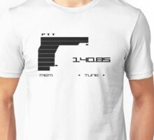 Metal Gear Solid 2 Codec (Black color) Unisex T-Shirt