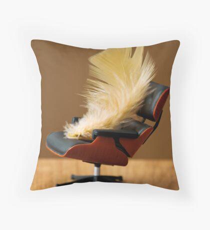 The Unbearable Flightness Throw Pillow