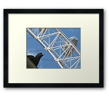 HaHa! You have to pay to get my view!!! Framed Print
