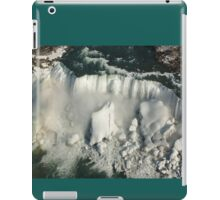 Aerial View of Niagara Falls with Snow and Ice iPad Case/Skin