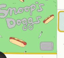 Snoop Dogg Food Truck Sticker