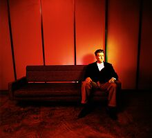 David Lynch Red Couch by YoPedro