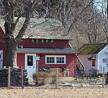 North Fork Farmhouse by Gilda Axelrod