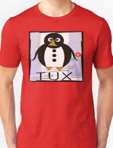 TUX:  FLOWER Unisex T-Shirt