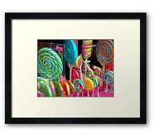 Choose one! :-) Framed Print