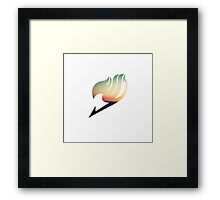 Chill - Fairy Tail Framed Print