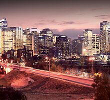 The City of Calgary by Chad Kruger