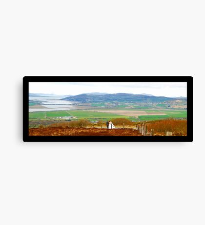 Inishowen Wedding - Donegal Canvas Print