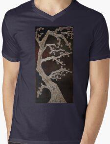Chocolate Blossoms Mens V-Neck T-Shirt