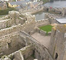 Castle view by kezbomb