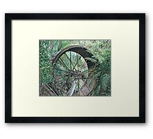 """wheel of Time"" Framed Print"