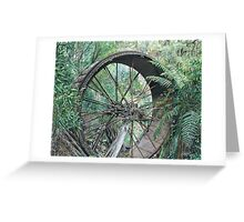 """""""wheel of Time"""" Greeting Card"""