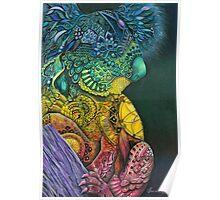 Koala Dreaming Poster