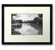 A River Runs Through It Framed Print