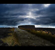 Ashy stone fort of Burt ,County Donegal by Ferdinand Lucino