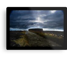 Ashy stone fort of Burt ,County Donegal Metal Print