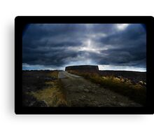 Ashy stone fort of Burt ,County Donegal Canvas Print