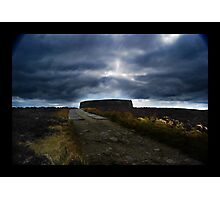 Ashy stone fort of Burt ,County Donegal Photographic Print