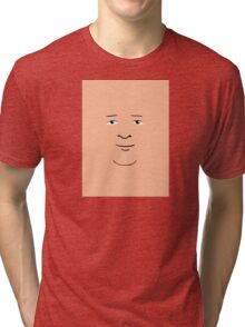 Bobby Hill Face Tri-blend T-Shirt