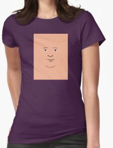 Bobby Hill Face Womens Fitted T-Shirt