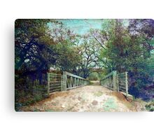 Ready To Cross Canvas Print