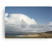 Harris Blue Canvas Print