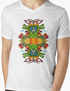 Inner explosion-II Mens V-Neck T-Shirt