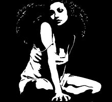 """Rebecca"" Moonlight Cameo Art by John D Moulton"