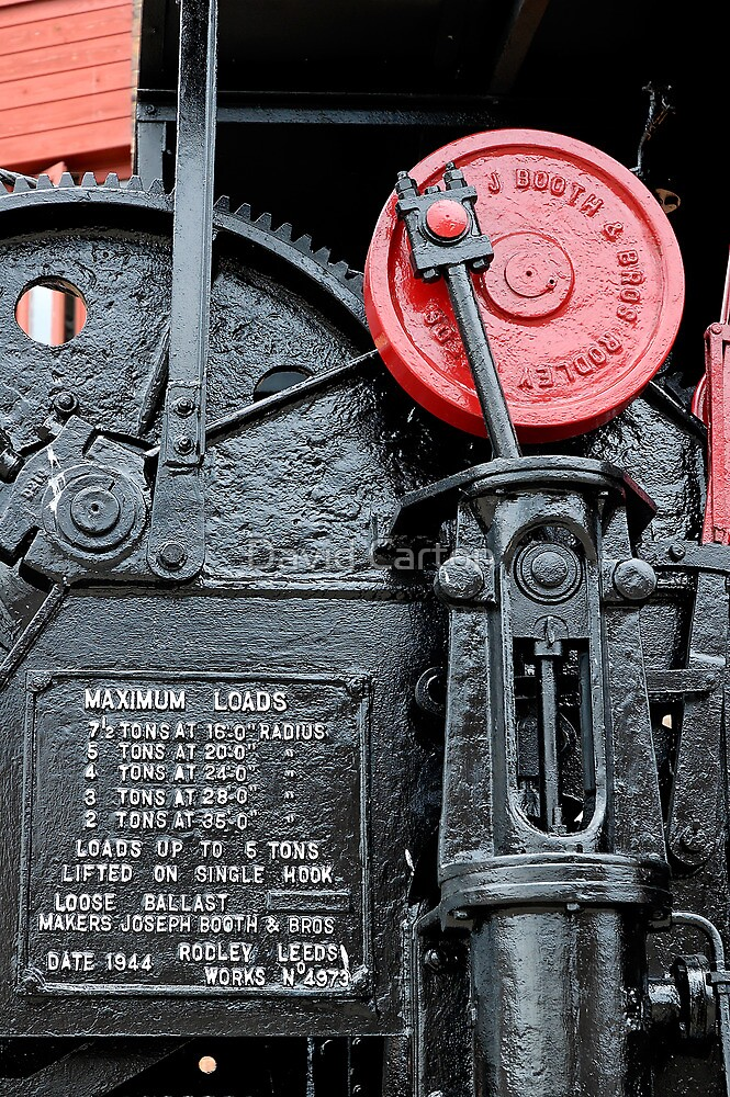 Detail on steam crane, Gloucester Docks by buttonpresser