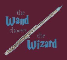 The Flute Chooses the Wizard by cali77