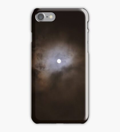 MID NIGHT MOON iPhone Case/Skin