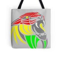 Reggae Music Cool Lion Reggae Colors T Shirts and Stickers Tote Bag