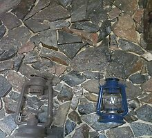 Three Old Coal Oil Lanterns by MaeBelle