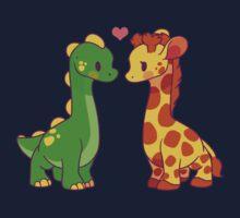 Dinosaur x Giraffe Kids Tee