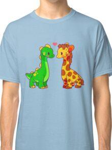 Dinosaur x Giraffe Classic T-Shirt