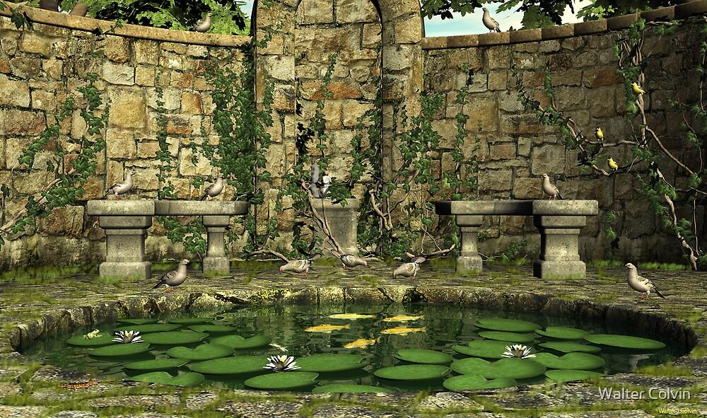 Koi Pond by Walter Colvin