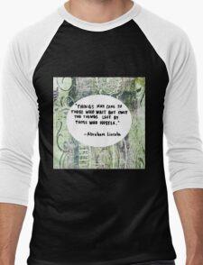 Hustle Men's Baseball ¾ T-Shirt