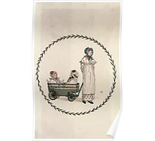 LIttle Ann and Other Poems by Jane and Ann Taylor art Kate Greenaway 1883 0005 Frontpiece Poster