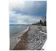 McLean's Creek, Lake Superior Poster