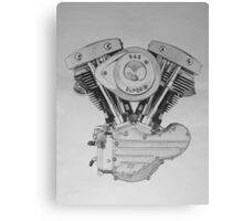 S&S Shovelhead Engine Canvas Print