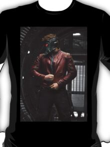 Star-lord Pose Body Color T-Shirt