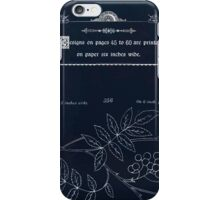 Briggs & Company Patent Transferring Papers Kate Greenaway 1886 0055 Inverted iPhone Case/Skin