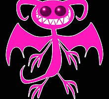 PINK DEMON by wickedcartoons